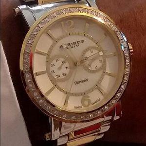 Invicta Gold and Silver tone watch